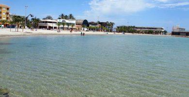 Playa La Playuela en San Pedro del Pinatar