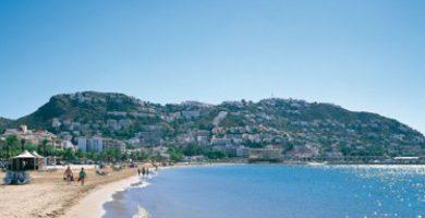 Playa La Punta en Roses