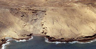Playa La Rajita en Vallehermoso