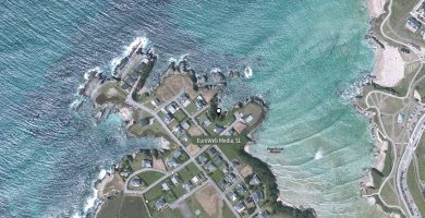 Playa La Reburdia en Tapia de Casariego