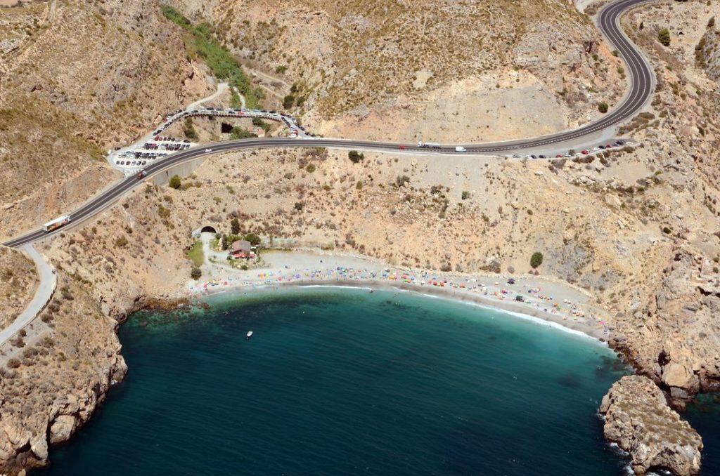 Playa La Rijana en Gualchos