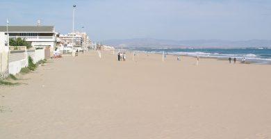 Playa La Roqueta en Guardamar del Segura