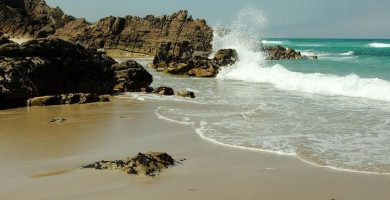 Playa La Salsa en Arteixo