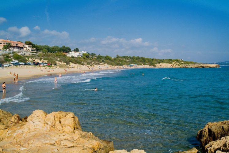Playa La Savinosa en Tarragona