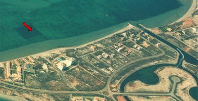 Playa La Veneziola en San Javier