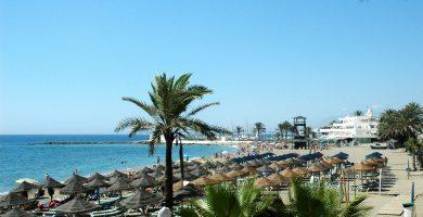 Playa La Venus en Marbella