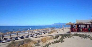 Playa La Víbora en Marbella