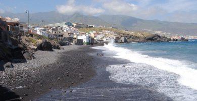 Playa La Viuda en Candelaria