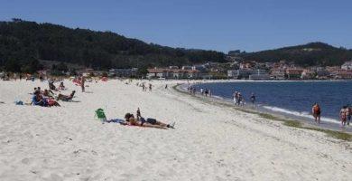 Playa Ladeira en Baiona