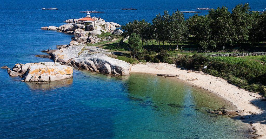 Playa Lagartiño en A Illa de Arousa