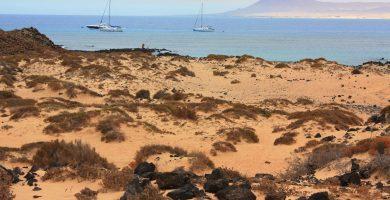 Playa Lago Norte en Camariñas