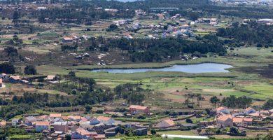 Playa Lagoa de Vixan en Ribeira