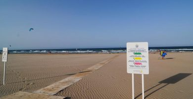 Playa L'Ahuir en Gandia