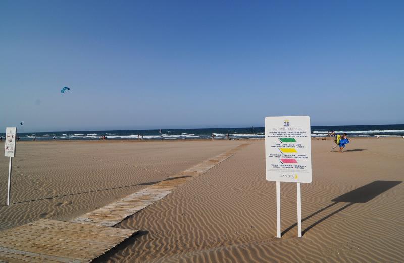 Playa L'Ahuir en Gandia
