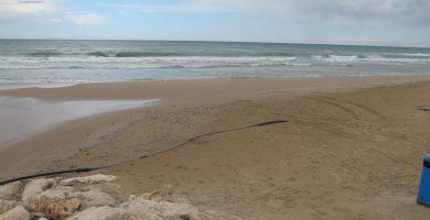Playa L'Aigua Blanca en Oliva