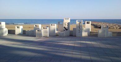Playa L'Almadrava en Vilassar de Mar
