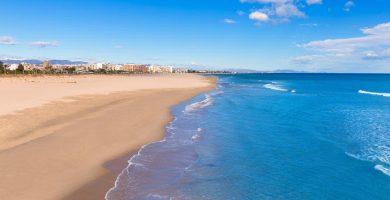 Playa L'Almardà en Sagunto