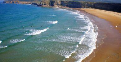 Playa Langre I en Ribamontán al Mar