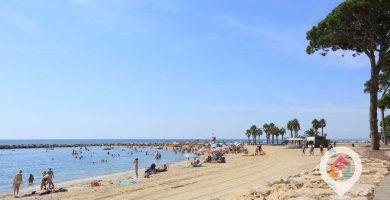 Playa L'Ardiaca en Cambrils