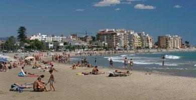 Playa L'Arenal en Vandellòs i l'Hospitalet de l'Infant