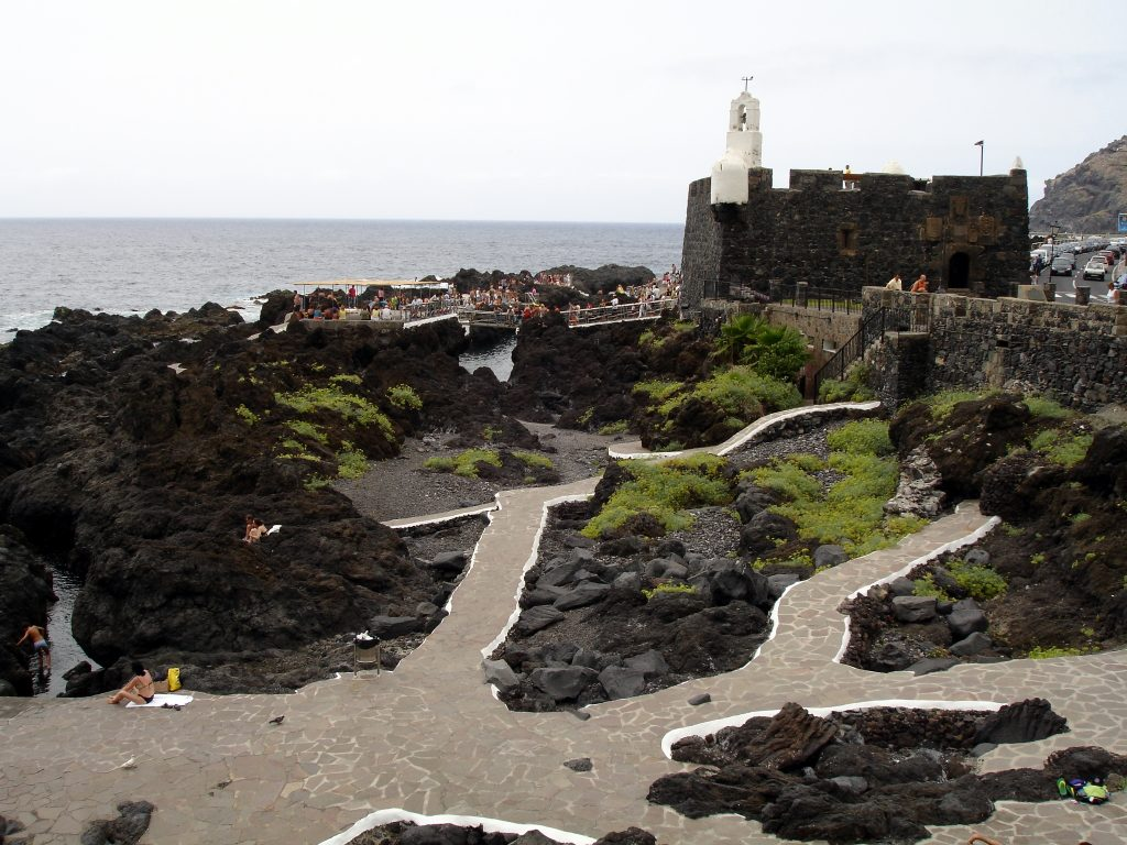 Playa Las Aguas en San Juan de la Rambla