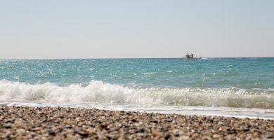 Playa Las Amoladeras en Almería