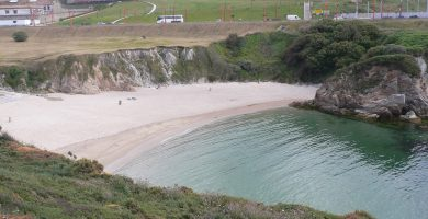 Playa Las Amorosas en A Coruña
