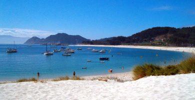 Playa Las Arreas en Valdés