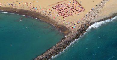 Playa Las Burras en San Bartolomé de Tirajana