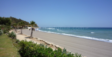 Playa Las Cañas en Marbella