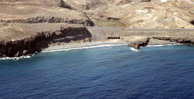 Playa Las Ceras en Arico