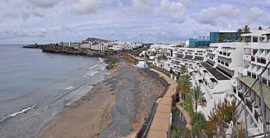 Playa Las Coloradas en Yaiza