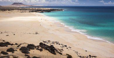 Playa Las Conchas en Teguise