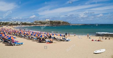 Playa Las Cucharas en Teguise