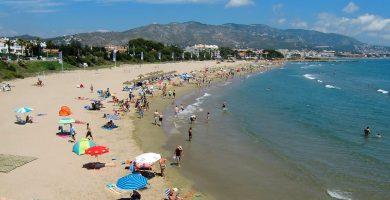 Playa Las Fuentes en Alcalà de Xivert