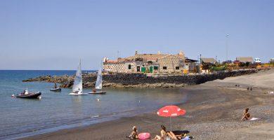 Playa Las Galletas en Arona