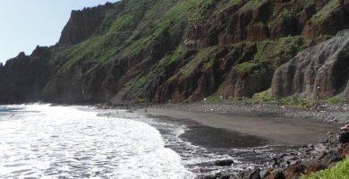 Playa Las Gaviotas en Santa Cruz de Tenerife