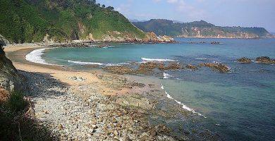 Playa Las Llanas en Muros de Nalón