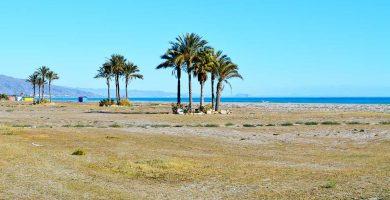 Playa Las Marinas en Vera