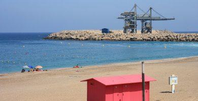 Playa Las Marinicas en Carboneras