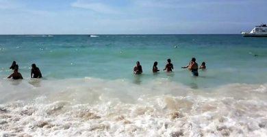 Playa Las Melvas en Cartagena