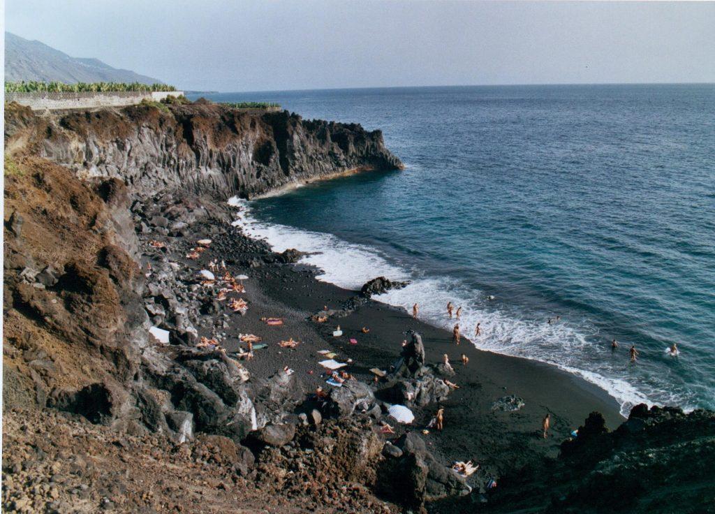 Playa Las Monjas en Los Llanos de Aridane