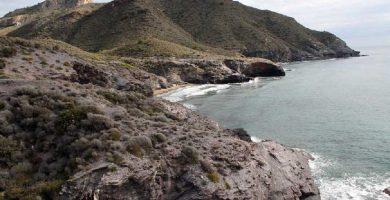 Playa Las Mulas en Cartagena