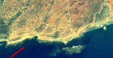 Playa Las Pulgas en Águilas