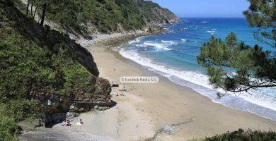 Playa Las Rubias en Cudillero