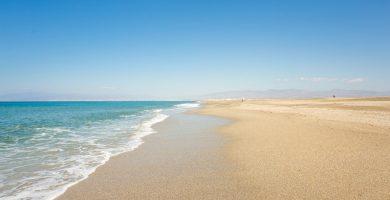 Playa Las Salinas de Cabo de Gata en Almería