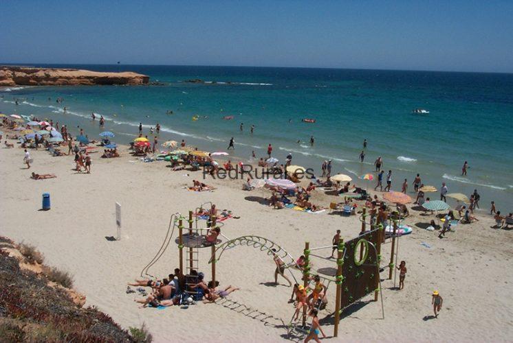 Playa Las Villas en Pilar de la Horadada