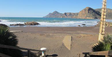 Playa Lastre en La Unión