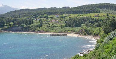 Playa Lastres en Colunga