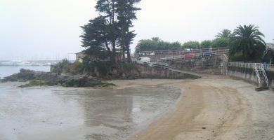 Playa Lavapanos en Sanxenxo